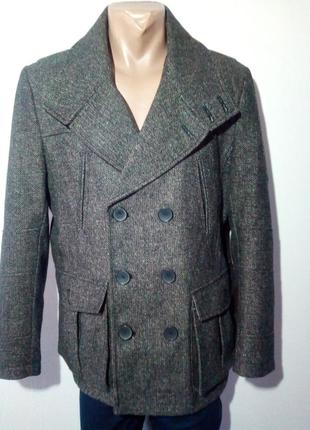 Мужское демисезонное пальто. french connection.
