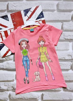Красивые футболки для девочек 8-11 лет