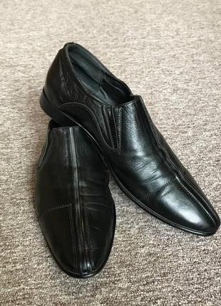 Чоловічі туфлі strado 100 % м'яка натуральна шкіра. мужские ко...