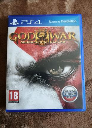 Гра god of war lll  для ps4