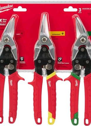 Набор ножниц по металлу Milwaukee (48224533)