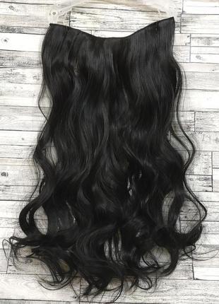 Трессы волосы на заколках волнистые на одной ленте затылочная ...