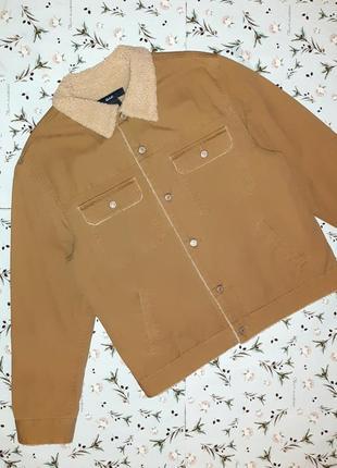 Стильная куртка шерпа с утеплителем gap на осень-зиму, размер ...