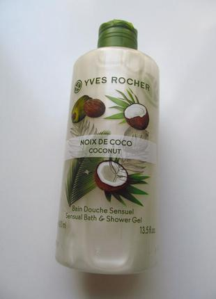 Гель для душа les plaisirs nature кокосовый орех кокос 200мл и...