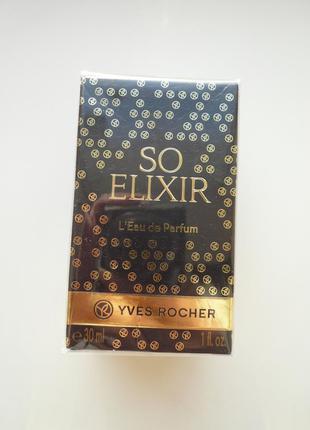 Парфюмированная вода so elixir - соу эликсир 30мл ив роше yves...