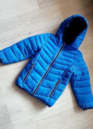 Куртка демисезон стеганная для мальчика теплая