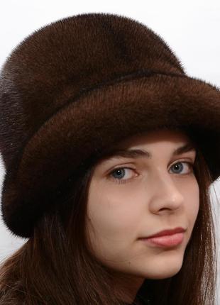 Женская норковая шляпа