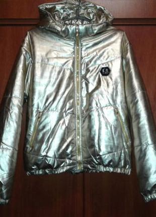 Куртка золотистая Catherine