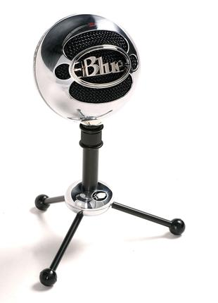 Микрофон (USB) - Blue Microphones Snowball Silver