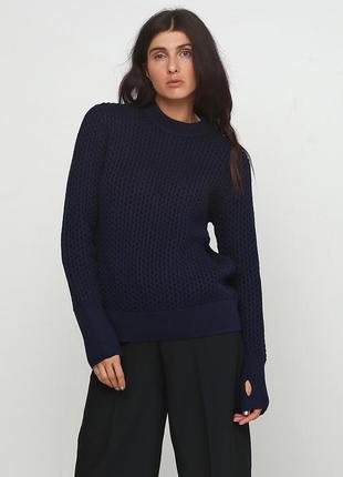 Теплый свитер cos, новый с бирками, люкс качество, вязаный дже...