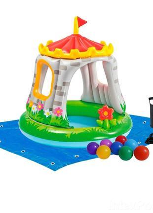 Детский надувной бассейн Intex +ПОДАРКИ!!!
