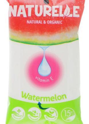 "Салфетки влажные ""Арбуз"" Naturelle Watermelon"