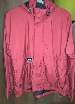 Helly hansen оригинальная мужская демисезонная куртка ветровка