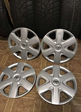 Оригинальные колпаки r14 Toyota