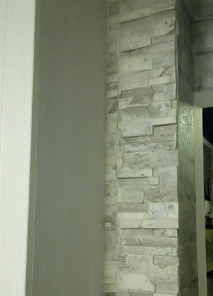 Укладка декоративної плитки, (мозайка,гіпс,камінь).