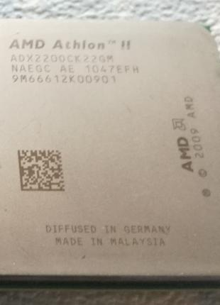 Процессор AMD Athlon II X2 220