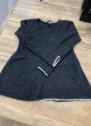 Тёплый шерстяной свитер  джемпер кофта женский