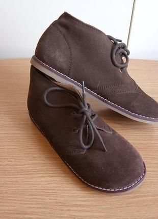 Комфортные ботинки из натуральной замши /кожи in extenso демис...