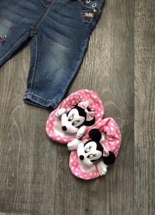 Детские пинеточки / тапочки mikki / mini mouse