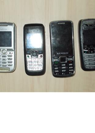 Мобильные телефоны Б\У на 1,2 симки