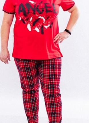 Комплект женский: футболка+брюки