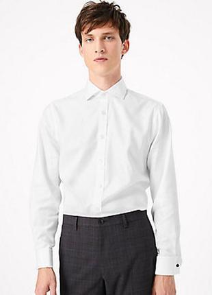 Классическая рубашка на запонках