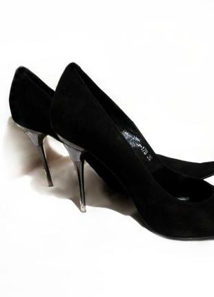Продам брендовые натур. замшевые туфли