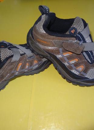 Ботинки кросовки merrell
