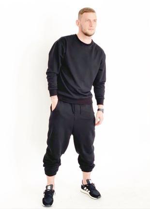 Мужской костюм Zara (цвет чёрный) размеры: s-m-l-xl