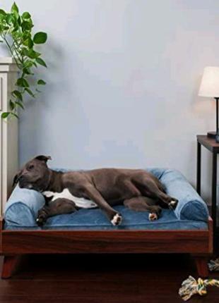 Лежак кровать для собак больших средних пород