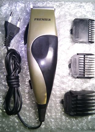 Электробритва для стрижки волос PREMIER PR2401 с насадками
