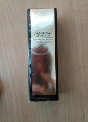 Гель-масло для лица avon anew
