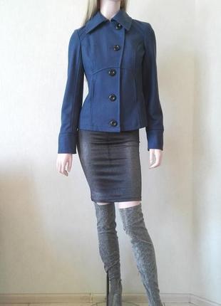 Итальянское полушерстяное пальто