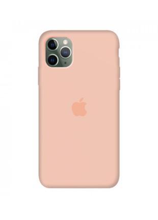 Силиконовый чехол  apple silicone case  для iphone 11 pro max..