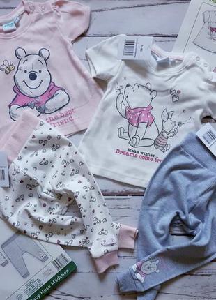 Набор штанишки футболочки дисней disney 62 68 74 80 оригинал