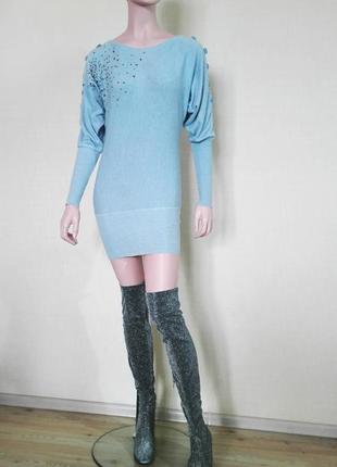 Мини платье туника от итальянского бренда