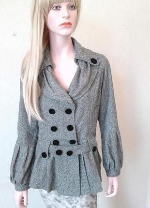 Элегантное короткое пальто корея