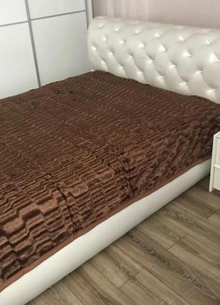 Плед покривало   на кровать  норка