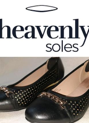 Туфли на широкую ногу Heavenly soles p.42