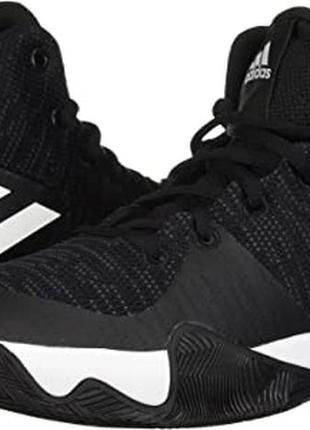 Топовые баскетбольные кроссовки adidas explosive flash.