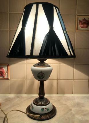 Светильник настольная лампа антиквариат торшер ночник