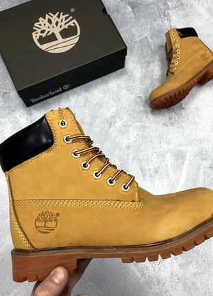 💎зимние💎женские/мужские кожаные ботинки, сапоги нубук с мехом