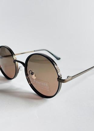 Очки женские солнцезащитные круглые овалы