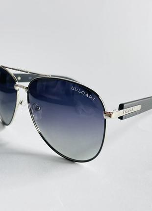 Мужские очки солнцезащитные bvlgari, авиаторы