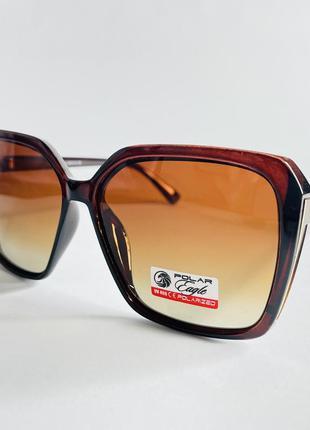 Очки солнцезащитные квадратные женские с поляризацией