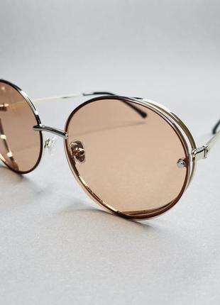 Солнцезащитные очки женские овалы kaizi, с поляризацией
