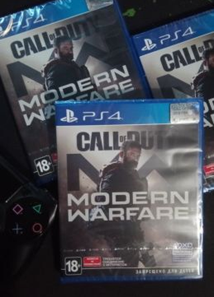 Call of Duty Modern Warfare (2019) PS4 (рус) новый, CoD MW19 PS4!