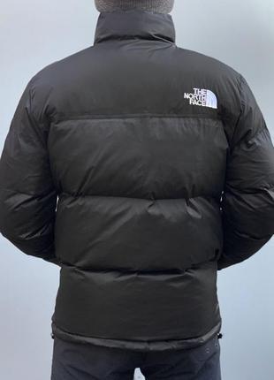 Пуховик куртка the north face  700 / black