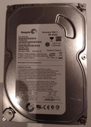 "Жесткий диск для ноутбука 2.5"" 320GB | Seagate"