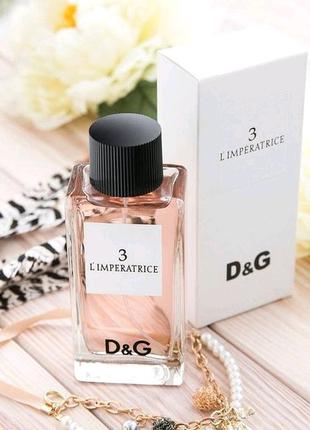 Dolce & Gabbana 3 L`Imperatrice, 100 мл